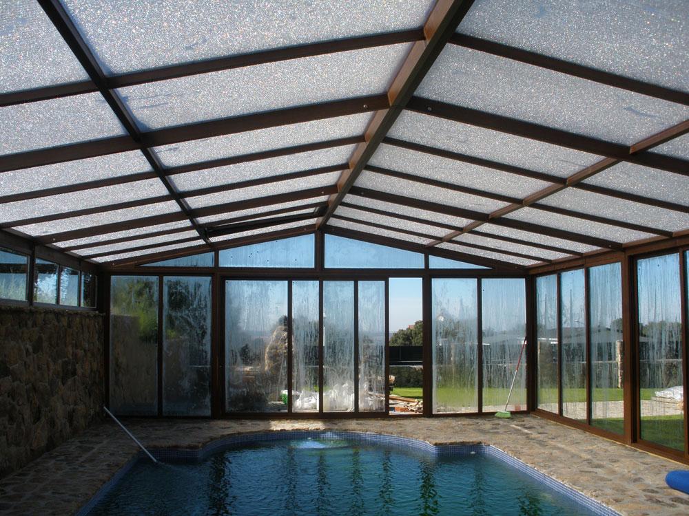 Cerramiento de piscinas instalaciones met licas rinc n - Cerramientos para piscinas ...