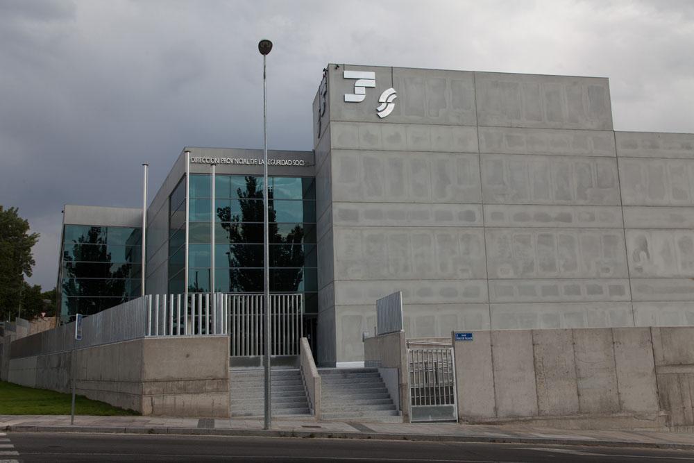 Tesorer a seguridad social segovia instalaciones for Tesoreria seguridad social vitoria