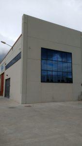 Nave Hontoria. Instalaciones metálicas Rincón. IMER SL